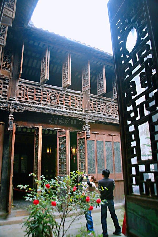 Ville antique de Nanxun photo stock