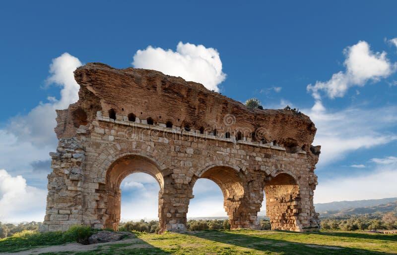 Ville antique de Tralleis photos libres de droits