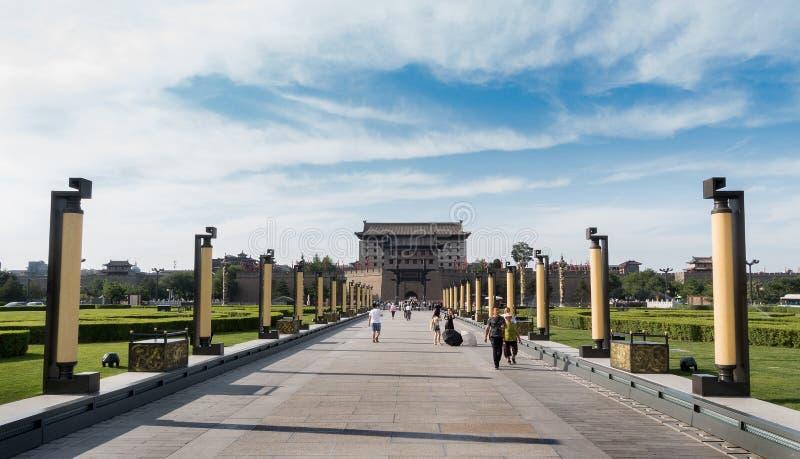 Ville antique de Xi'an photographie stock