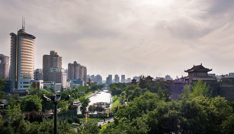 Ville antique de Xi'an photographie stock libre de droits