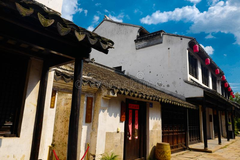 Ville antique de Xuntang image libre de droits
