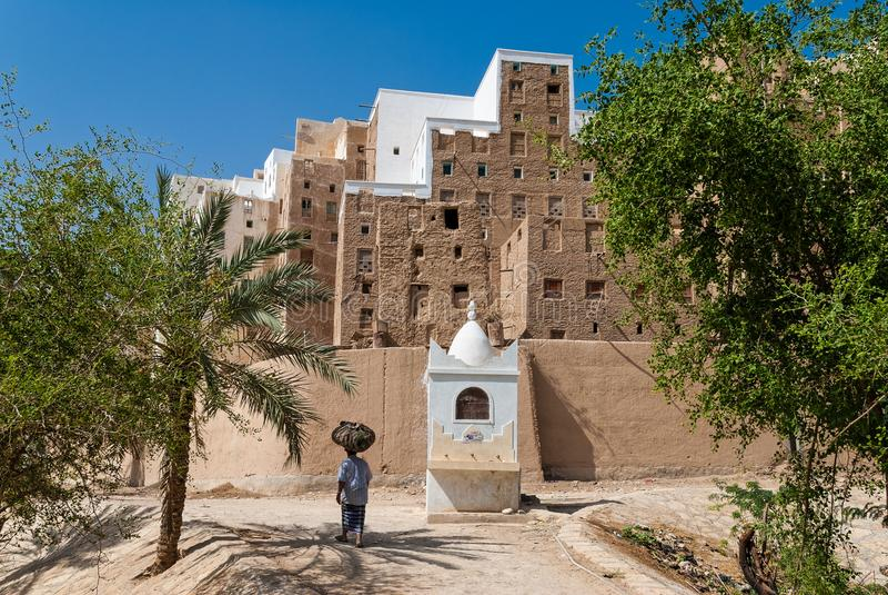 Ville au Yémen photos stock