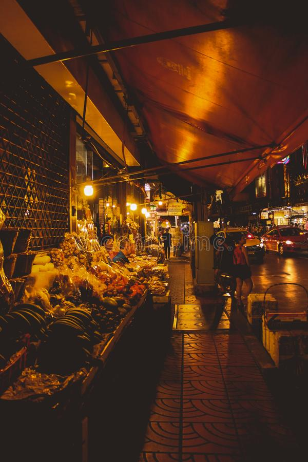 Ville Bangkok Thaïlande de la Chine photo libre de droits