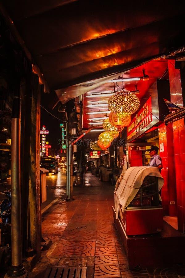 Ville Bangkok Thaïlande de la Chine photo stock
