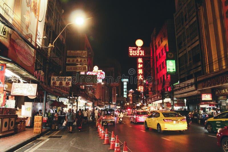 Ville Bangkok Thaïlande de la Chine photos stock