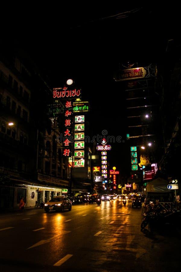 Ville Bangkok Thaïlande de la Chine image stock