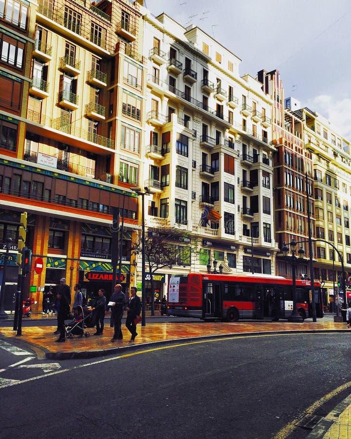 Ville, Barcelone images libres de droits