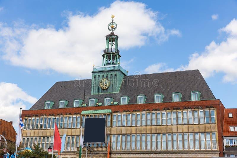 Ville basse-saxe Allemagne d'Emden photo stock