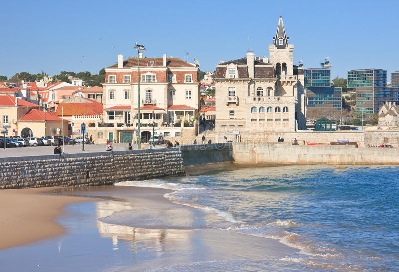Ville Cascais. Portugal photos libres de droits