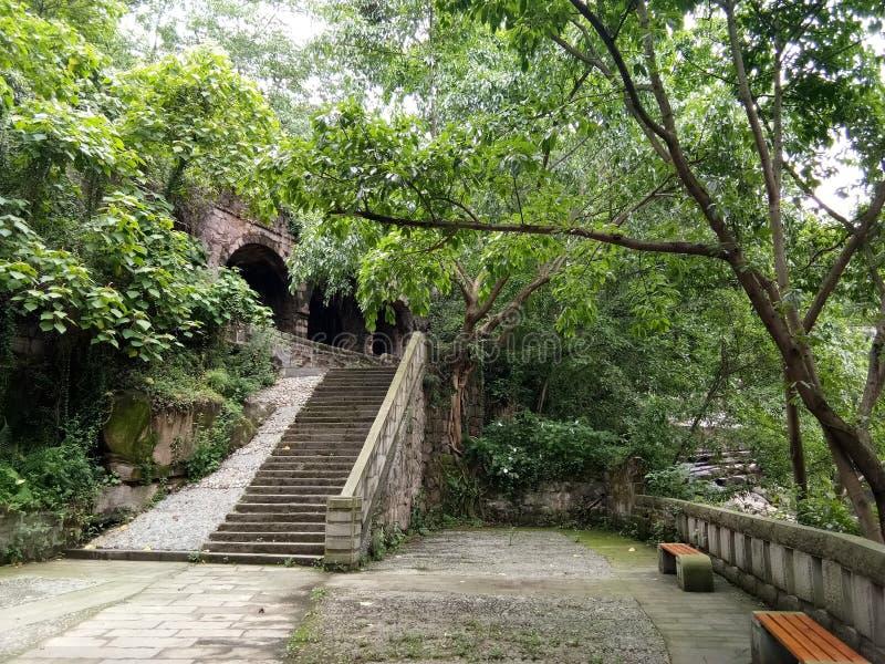 Ville Chongqing China de Dongxi photographie stock