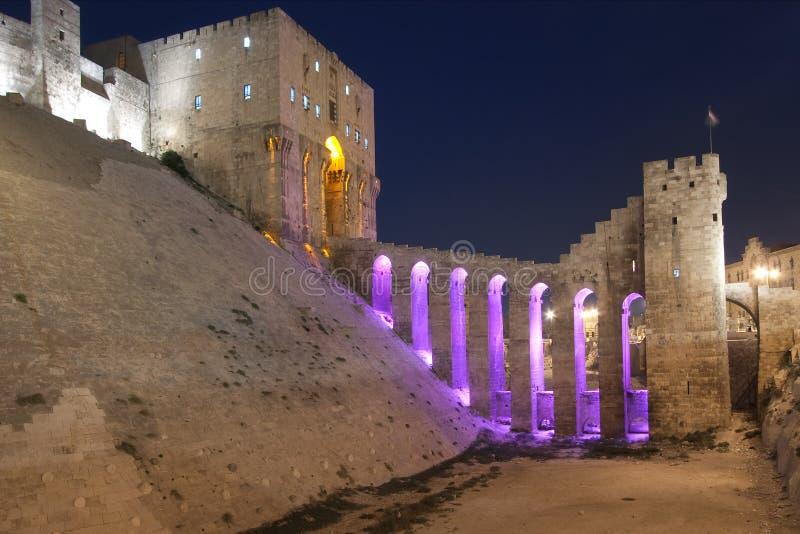 Ville d'Alepo images libres de droits
