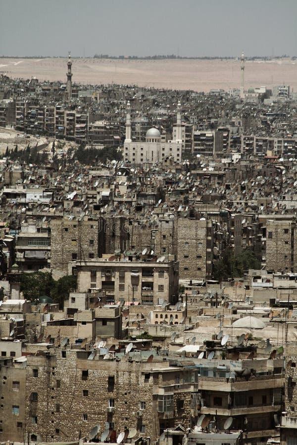 Ville d'Aleppo photo stock