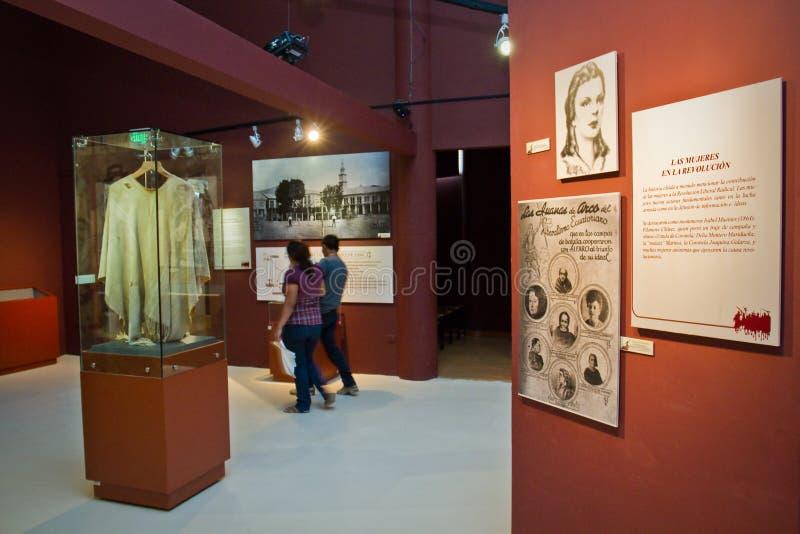 Ville d'Alfaro, maison au constituant national images libres de droits