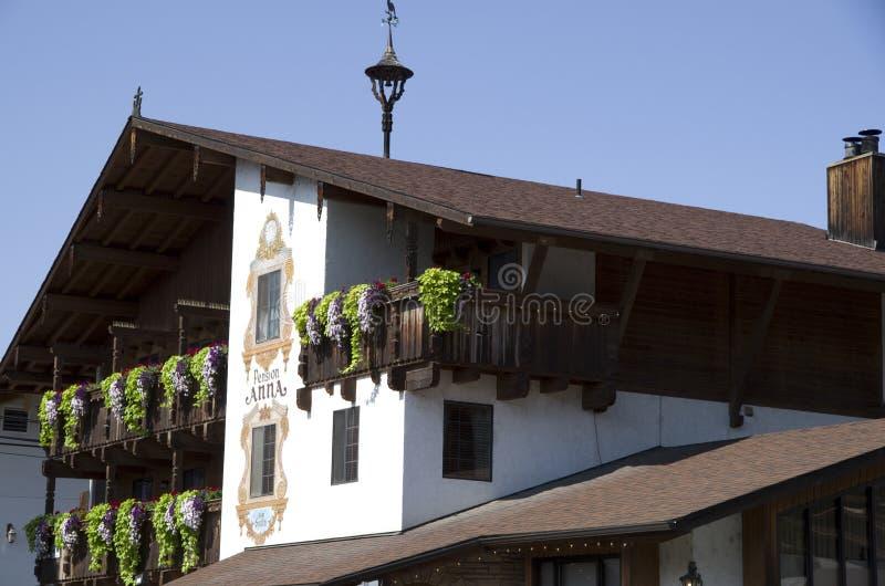 Ville d'Allemand de Leavenworth photographie stock