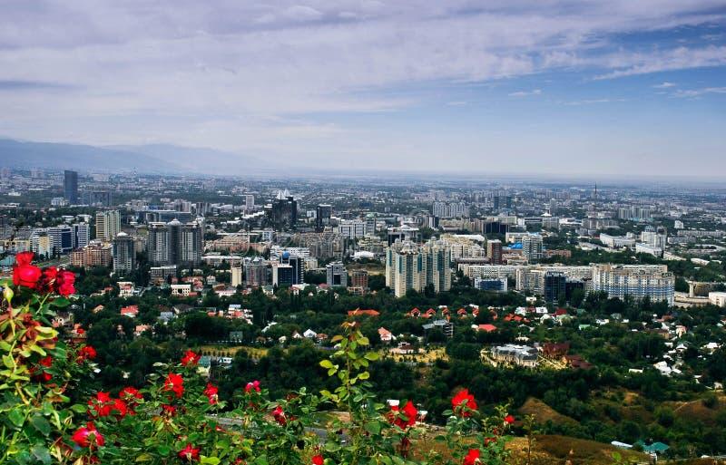 Ville d'Almaty image libre de droits