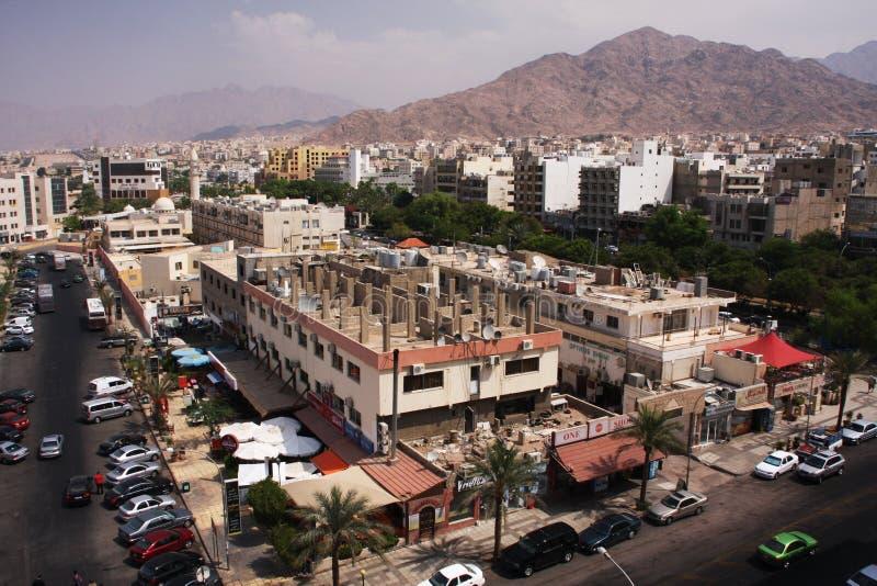 Ville d'Aqaba photographie stock libre de droits