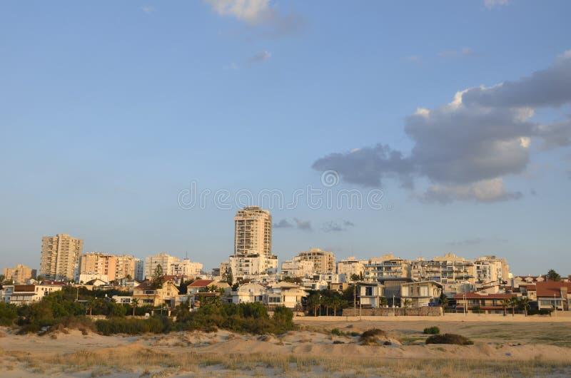 Ville d'Ashdod. image stock