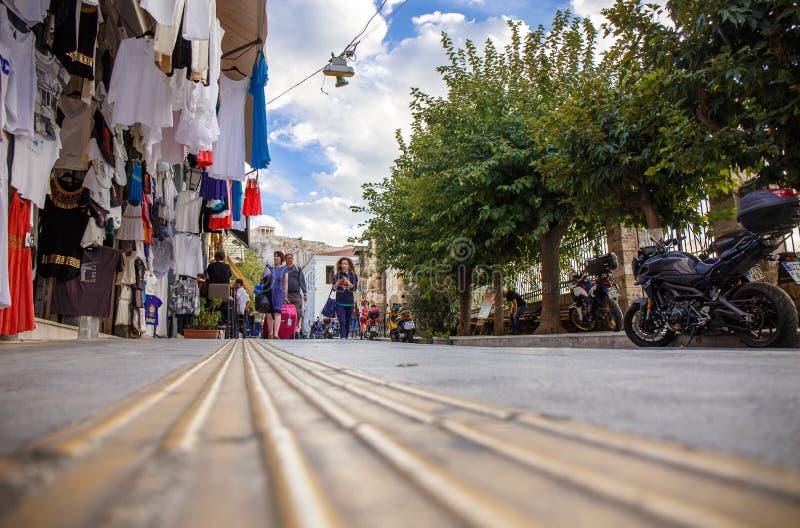 Ville d'Athéna photographie stock