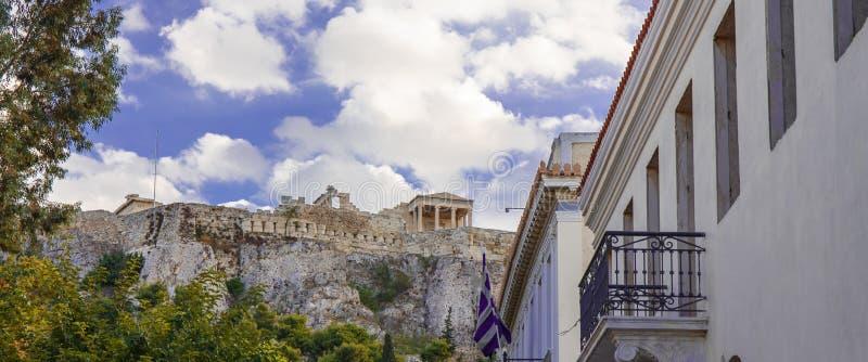 Ville d'Athéna images libres de droits