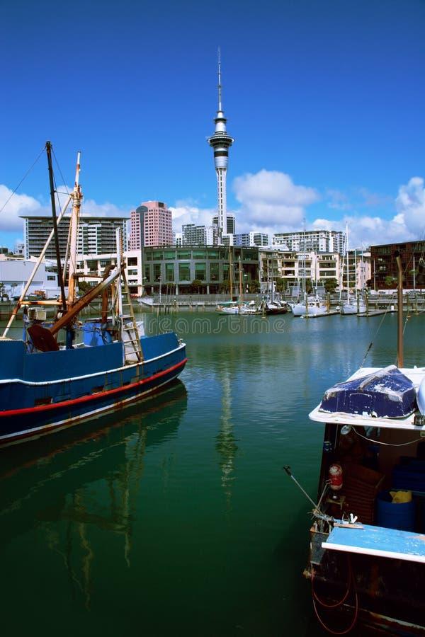 Ville d'Auckland photos libres de droits
