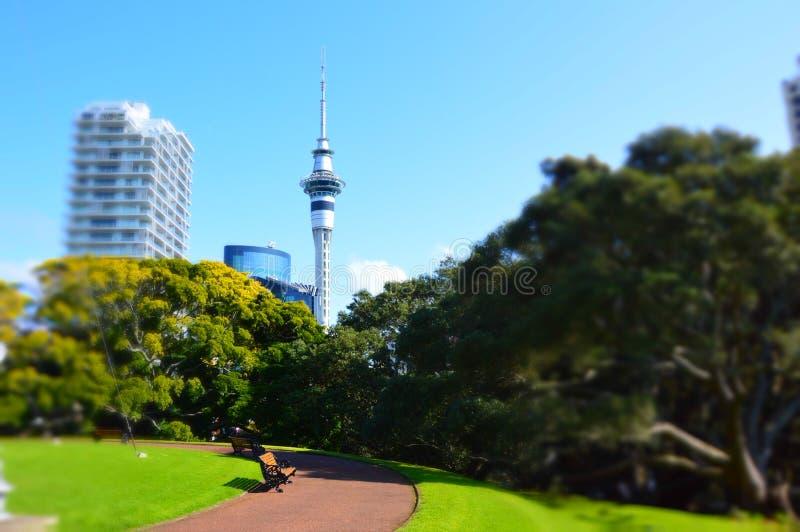 Ville d'Auckland photo libre de droits