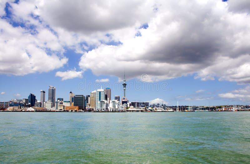Ville d'Auckland, Nouvelle Zélande par le jour 3 photographie stock