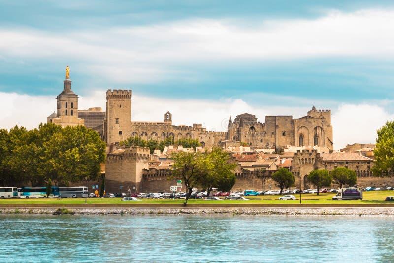 Ville d'Avignon, Provence, France, l'Europe images libres de droits