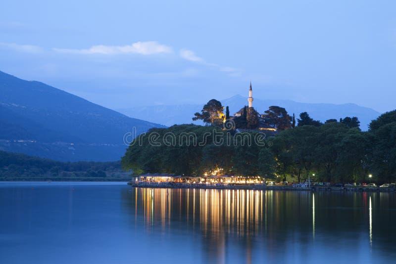 Ville d'Ioannina en Grèce image libre de droits