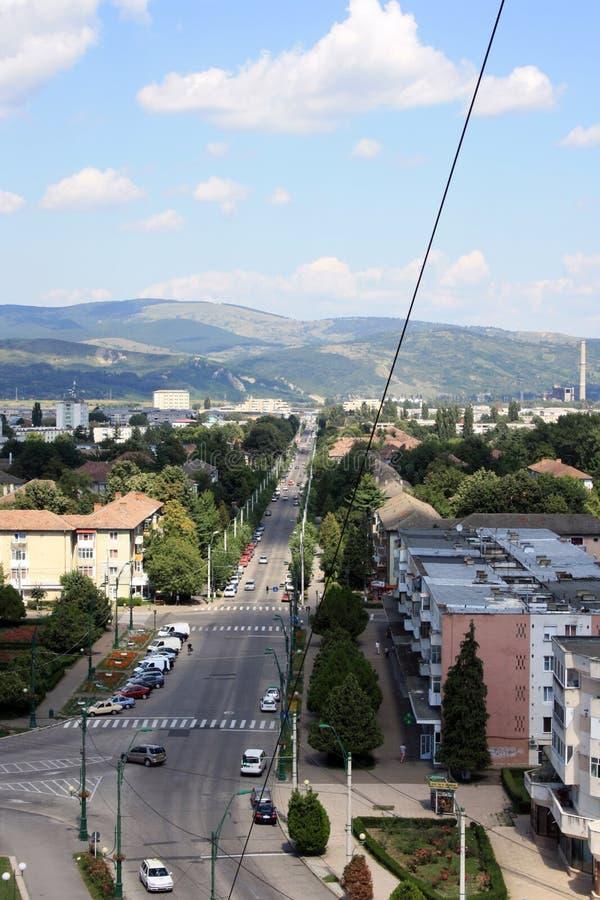 Ville d'Onesti photos stock