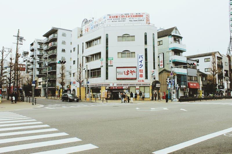 Ville d'Osaka photos stock