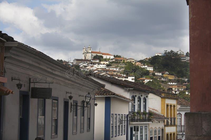 Download Ville d'Ouro Preto photo stock. Image du latin, amérique - 742426