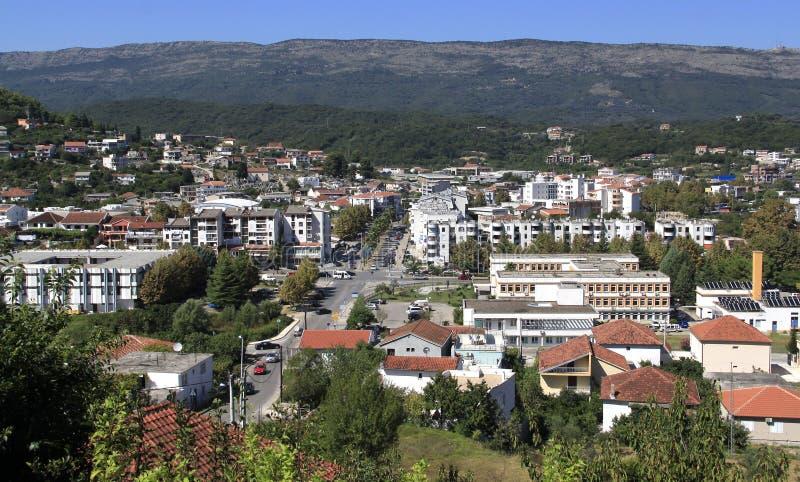Ville d'Ulcinj de Monténégro photos stock