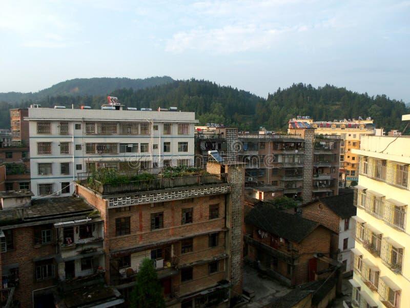 ville dans le sud de la Chine image libre de droits