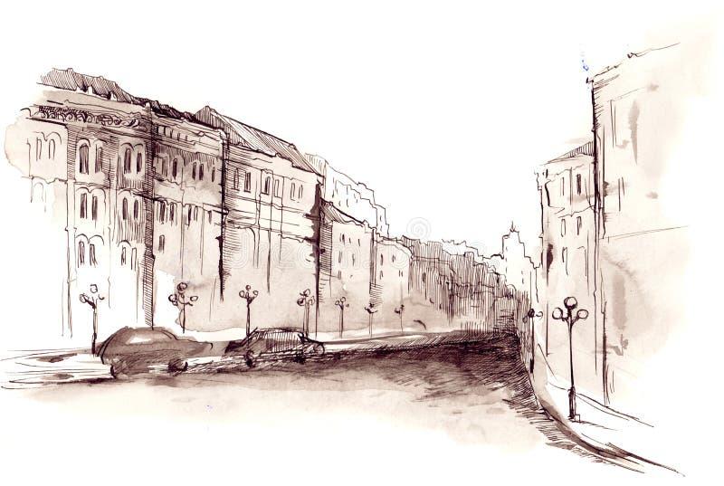 ville de ‹d'†de ‹d'†illustration stock