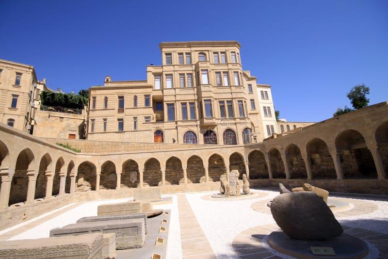 Ville de Bakou image libre de droits