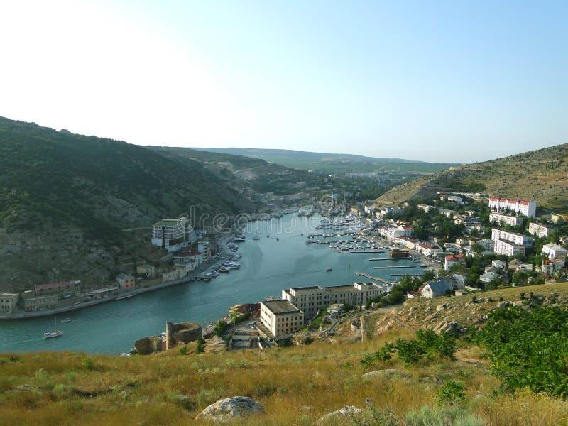 Ville de Balaklava photos stock
