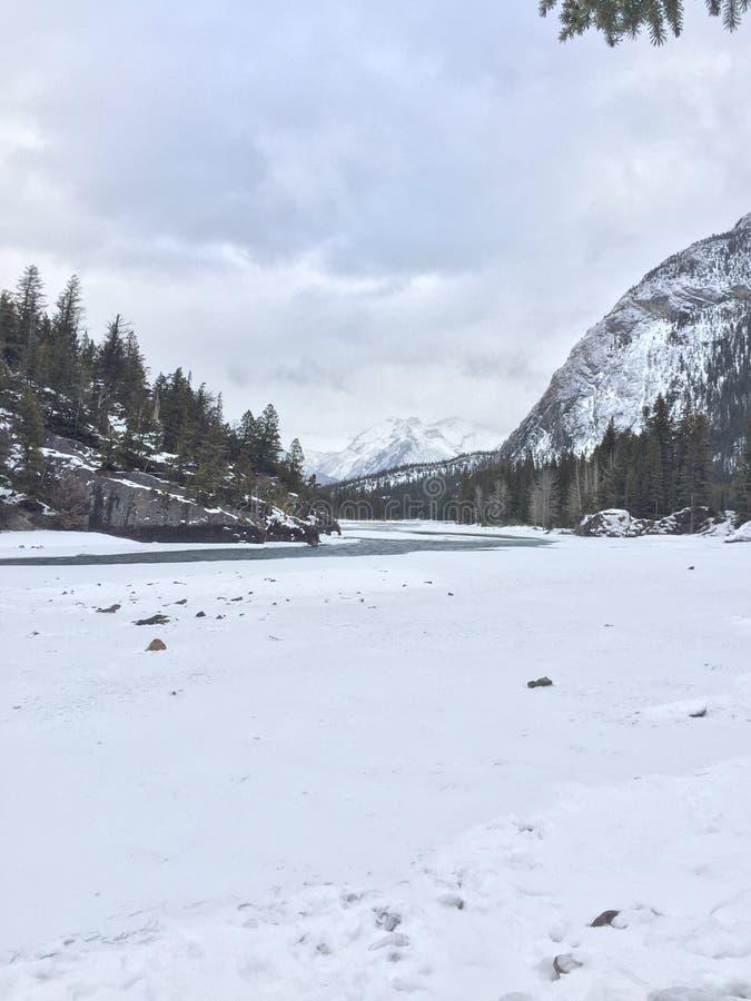 Ville de Banff photographie stock
