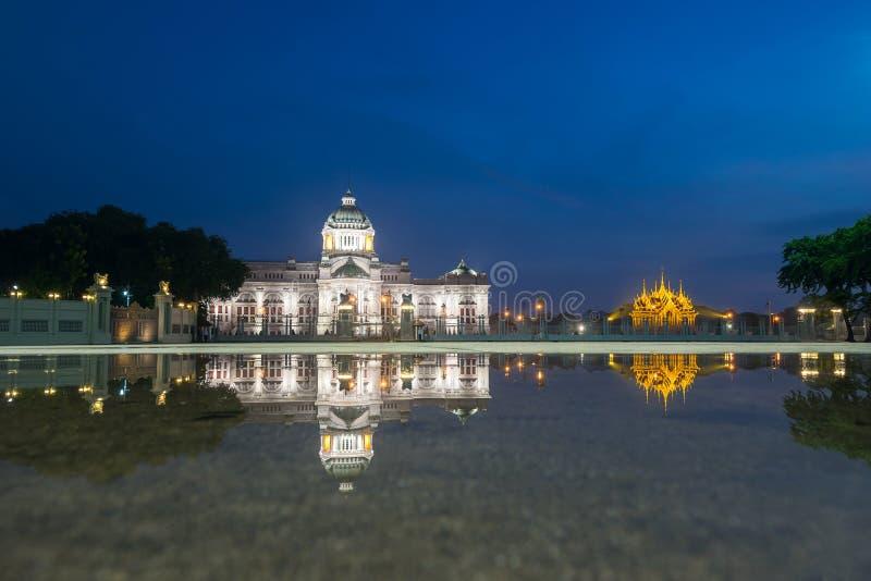 Ville de Bangkok - palais de Dusit photographie stock