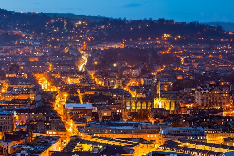 Ville de Bath Somerset England R-U l'Europe images stock