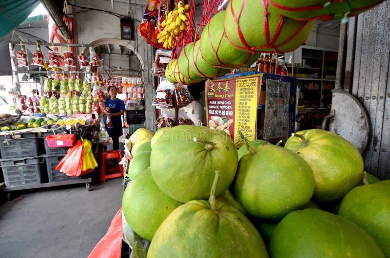 Ville de Bidor de stalle de fruit @ photographie stock libre de droits