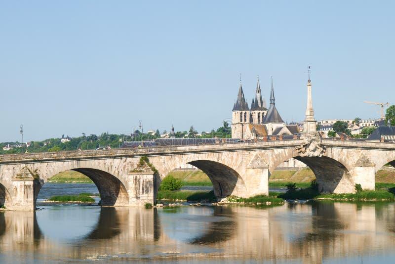 Ville de Blois imagenes de archivo