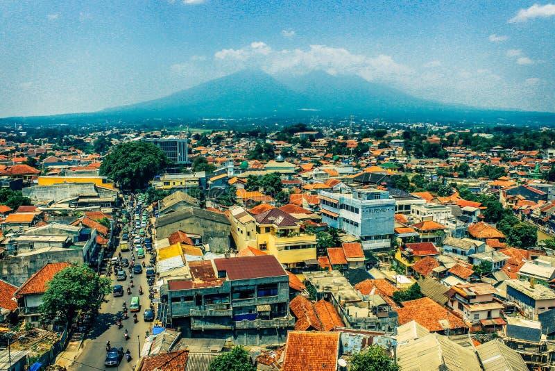 Ville de Bogor images libres de droits
