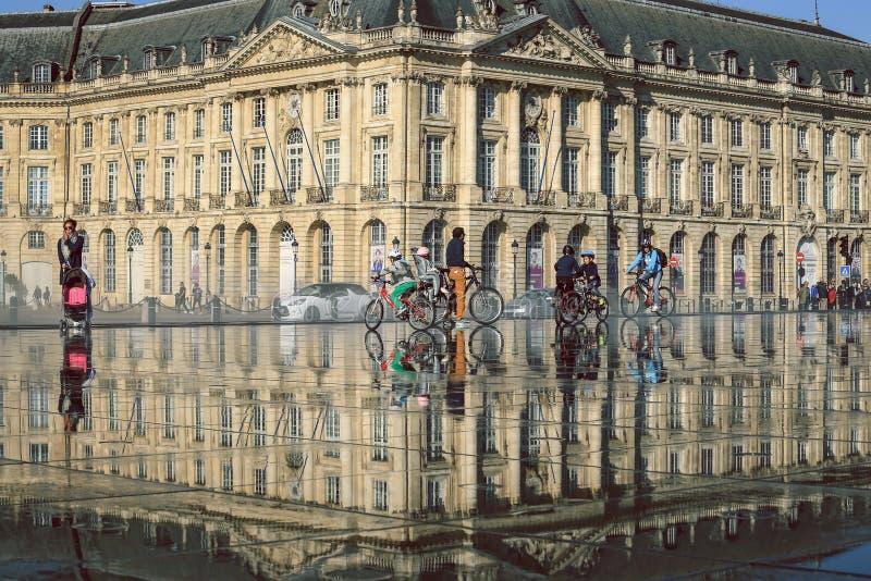 Ville de Bordeaux photos libres de droits