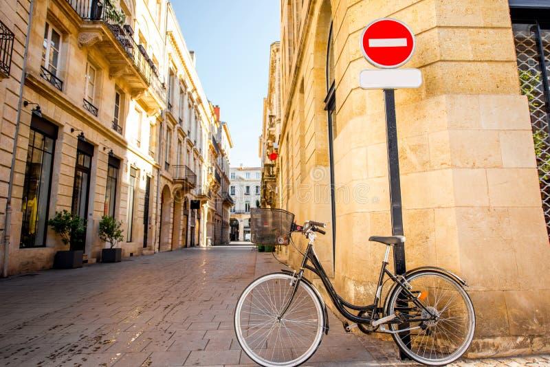 Ville de Bordeaux dans les Frances images libres de droits