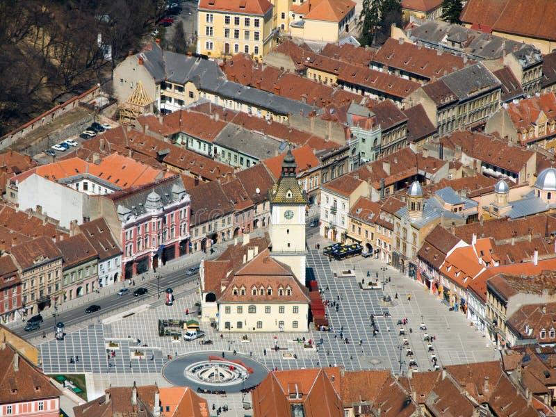 Ville de Brasov : La Roumanie photos libres de droits