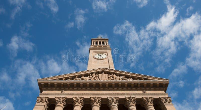 Ville de Brisbane, Australie de QLD images libres de droits