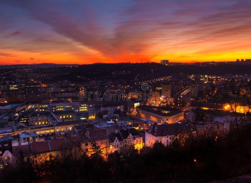 Ville de Brno, République Tchèque images libres de droits