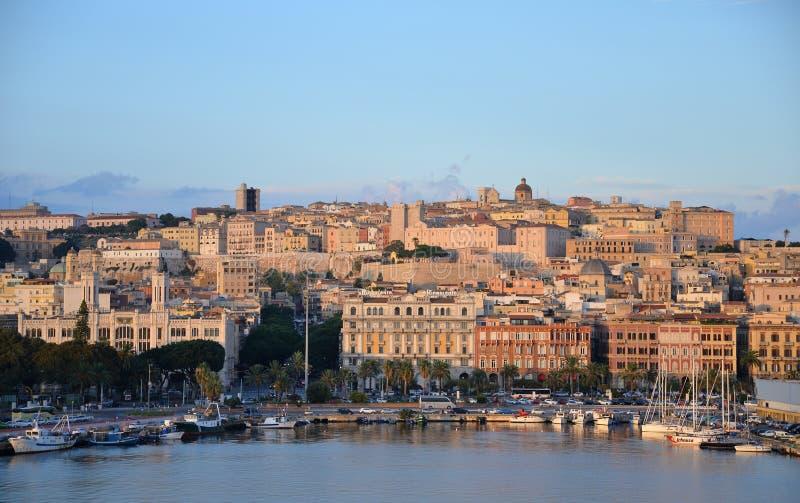 Ville de Cagliari, Sardaigne, Italie images stock