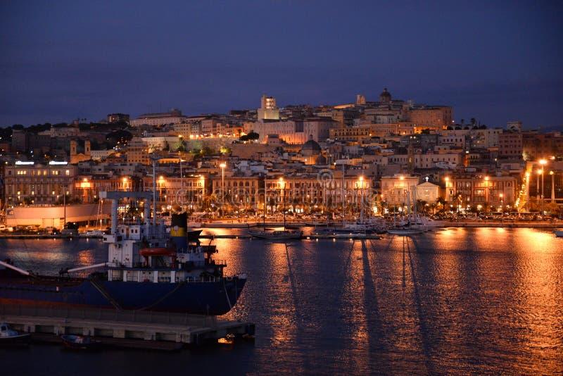 Ville de Cagliari, Sardaigne, Italie photos libres de droits