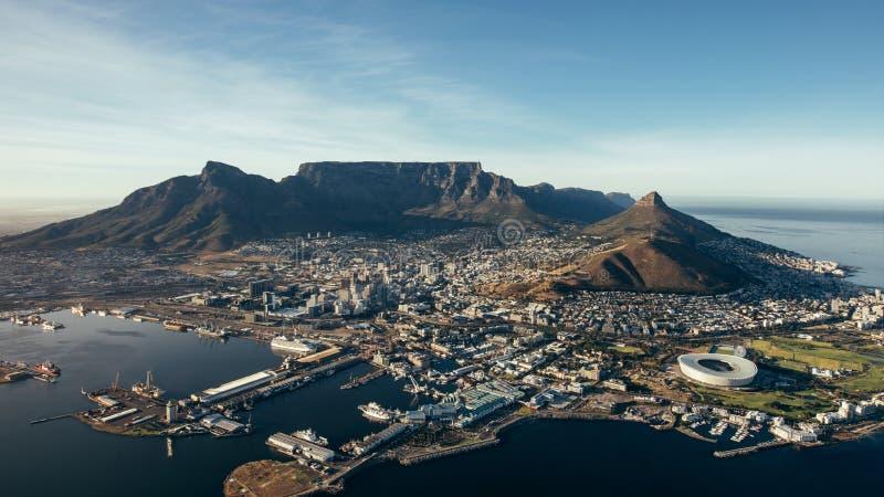 Ville de Cape Town, Afrique du Sud photographie stock